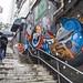 Colorful Graffiti in Soho, Hong Kong by Ben Heine