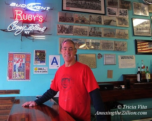 Michael Sarrel, co-owner of Ruby's Bar