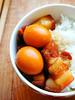Vietnamese caramelised braised pork & quail eggs in coconut juice