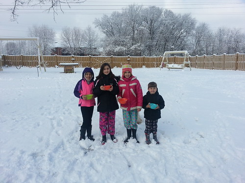Snow in Muscle Shoals