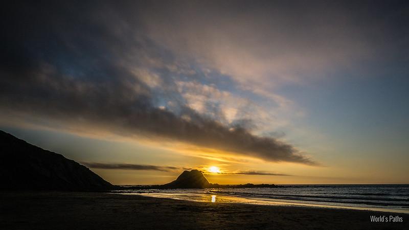 tramonto a Punta Ruiva