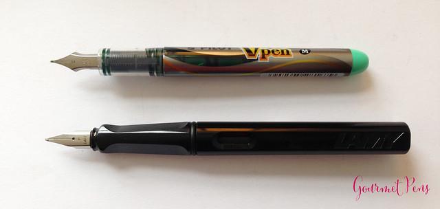 Review Pilot VPen Fountain Pen - Light Green @PilotPenUSA @JetPens (5)
