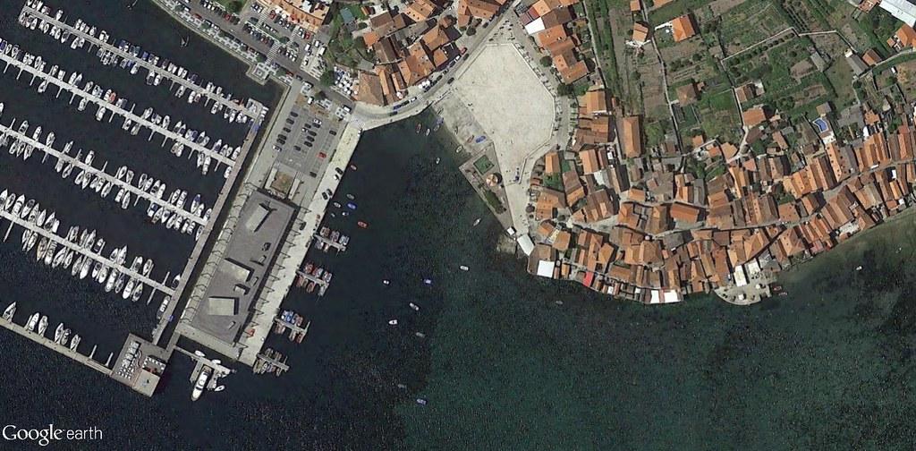 después, urbanismo, foto aérea,desastre, urbanístico, planeamiento, urbano, construcción,Combarro, Pontevedra