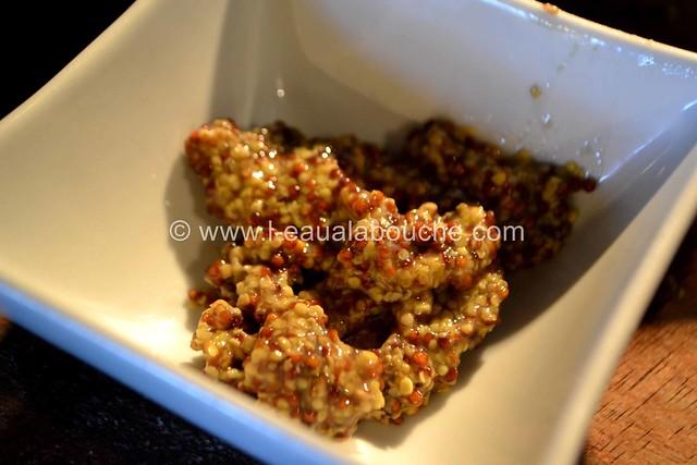 Salade de Haricots Verts aux Oeufs et Sauce Moutarde à l'Ancienne © Ana Luthi