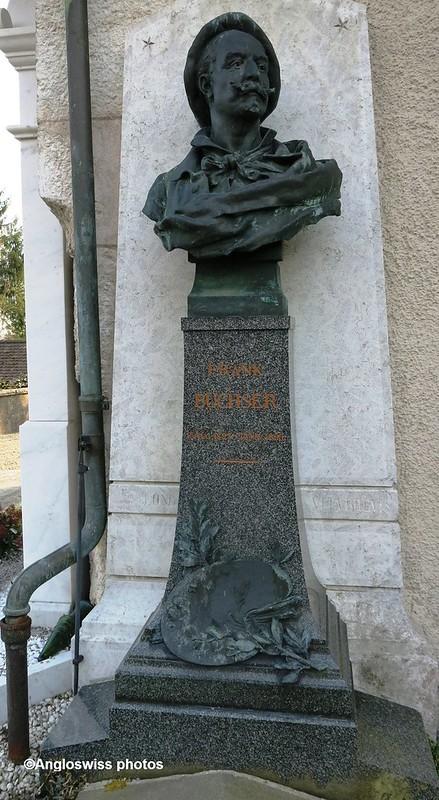Grave Frank Buchser, St. Niklaus, Feldbrunnen