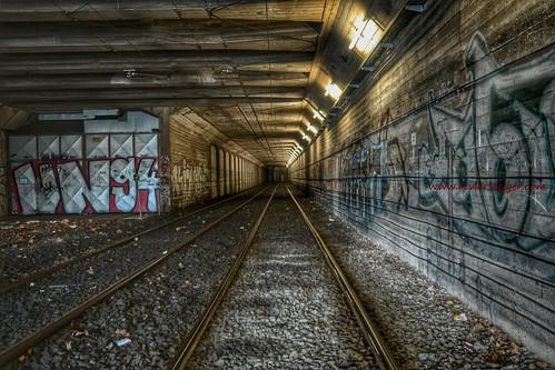 Strassenbahntunnel - Tramway tunnel