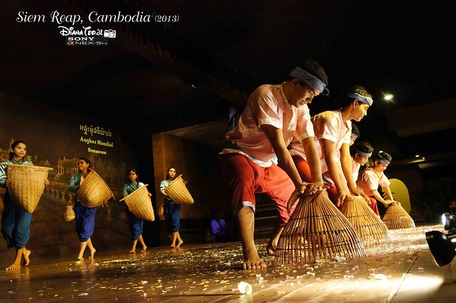 Siem Reap, Cambodia Day 3 - Apsara Dance 03