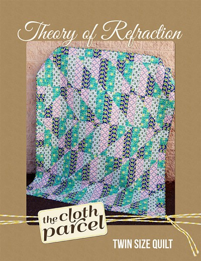 Theory of Refraction Quilt Pattern GIVEAWAY!!