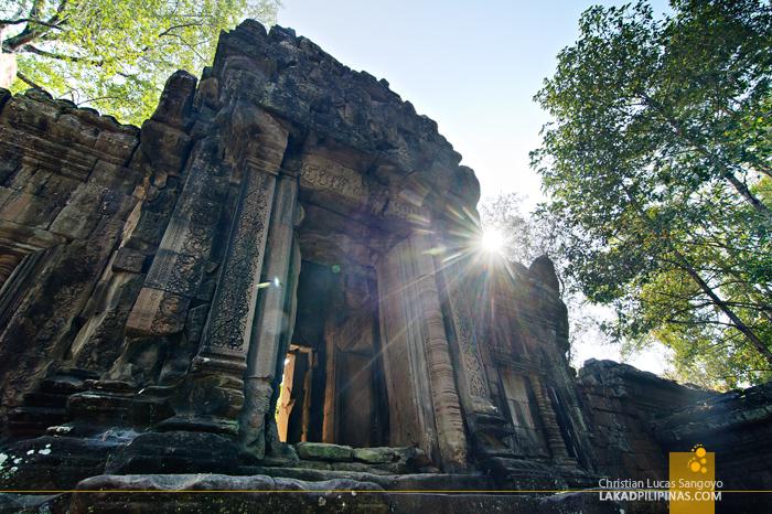 Gopura in Angkor Thom, Siem Reap