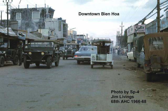 BIEN HOA 1966-68 - Photo by Sp-4 Jim Livings