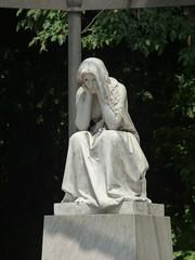 Parco Ciani - Lugano - statue - Desolazione by Vincenzo Vela