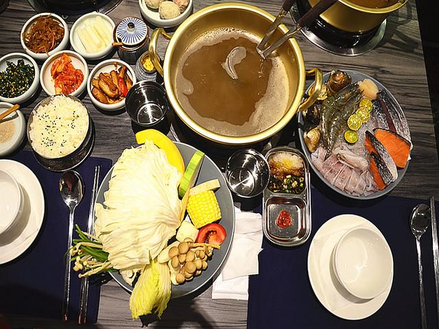 新沙洞韓國涮涮鍋