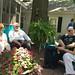 Mrs. side pocket, jotter, Meteor Blades and Denise Oliver Velez