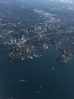 North Sydney from above