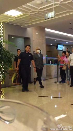 BIGBANG arrival Shenzhen Airport 2015-08-07 (2)