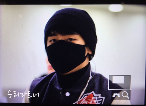 Big Bang - Gimpo Airport - 27feb2015 - Seung Ri - Partnervi - 01