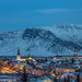 Downtown Reykjavik - Blue Hour by Jerry Fryer