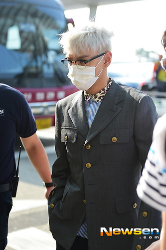 Big Bang - Incheon Airport - 07aug2015 - Newsen - 14