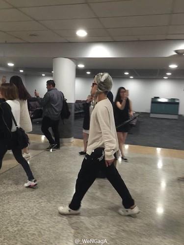 BIGBANG arrival Melbourne 2015-10-20 (3)