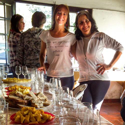 @andriucata y A. Delfino en el #cumpleaños #50 de la Andrea de la derecha #friends #today #saturday