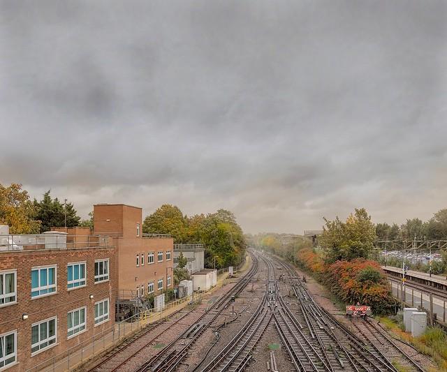 east from upminster station 2016