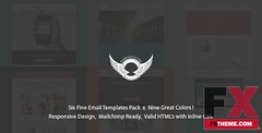 Conner Philander Preview SixPack - Professional Responsive Email Templates TF