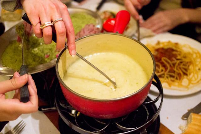 Cafe Bern Amsterdam fondue