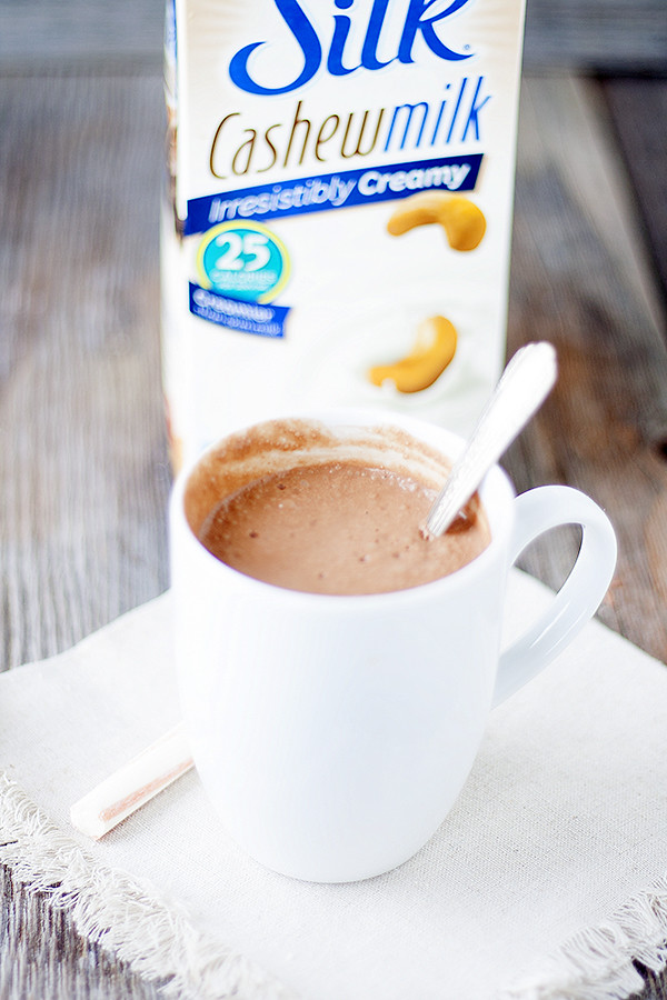 thick and creamy non-dairy hot cocoa