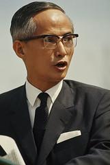 SAIGON 1965 - Bác sĩ Phan Huy Quát, Thủ tướng Nam VN. Photo by Wilbur E. Garrett