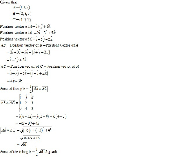 RD Sharma Class 12 Solutions Online Chapter 25 Vector or Cross Product Ex 25.1 Q34