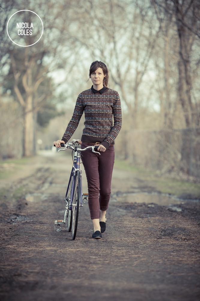 Nicola Coles and her Bicycle 6
