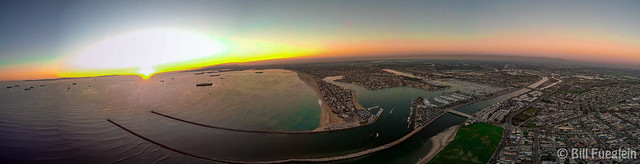 #DJI #panorama  #drone #sunset