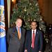 Secretary General Lights Christmas Tree at OAS Headquarters