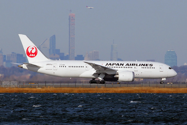 JA821J | Boeing 787-8 Dreamliner | Japan Airlines