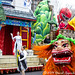 Beauty of Beijing Float by Sino-American Friendship Association at Macy's Thanksgiving Day Parade