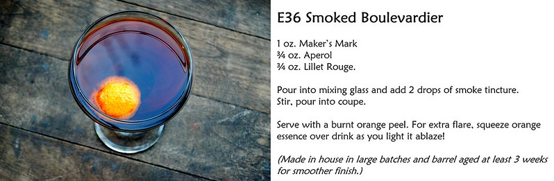 East Thirty-Six - Cocktail Recipe - Boulevardier