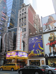 New Amsterdam Theatre Marquee 42nd street 2834