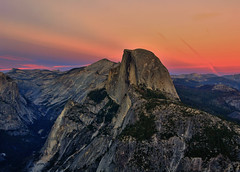 Half Dome at the Blue Hour