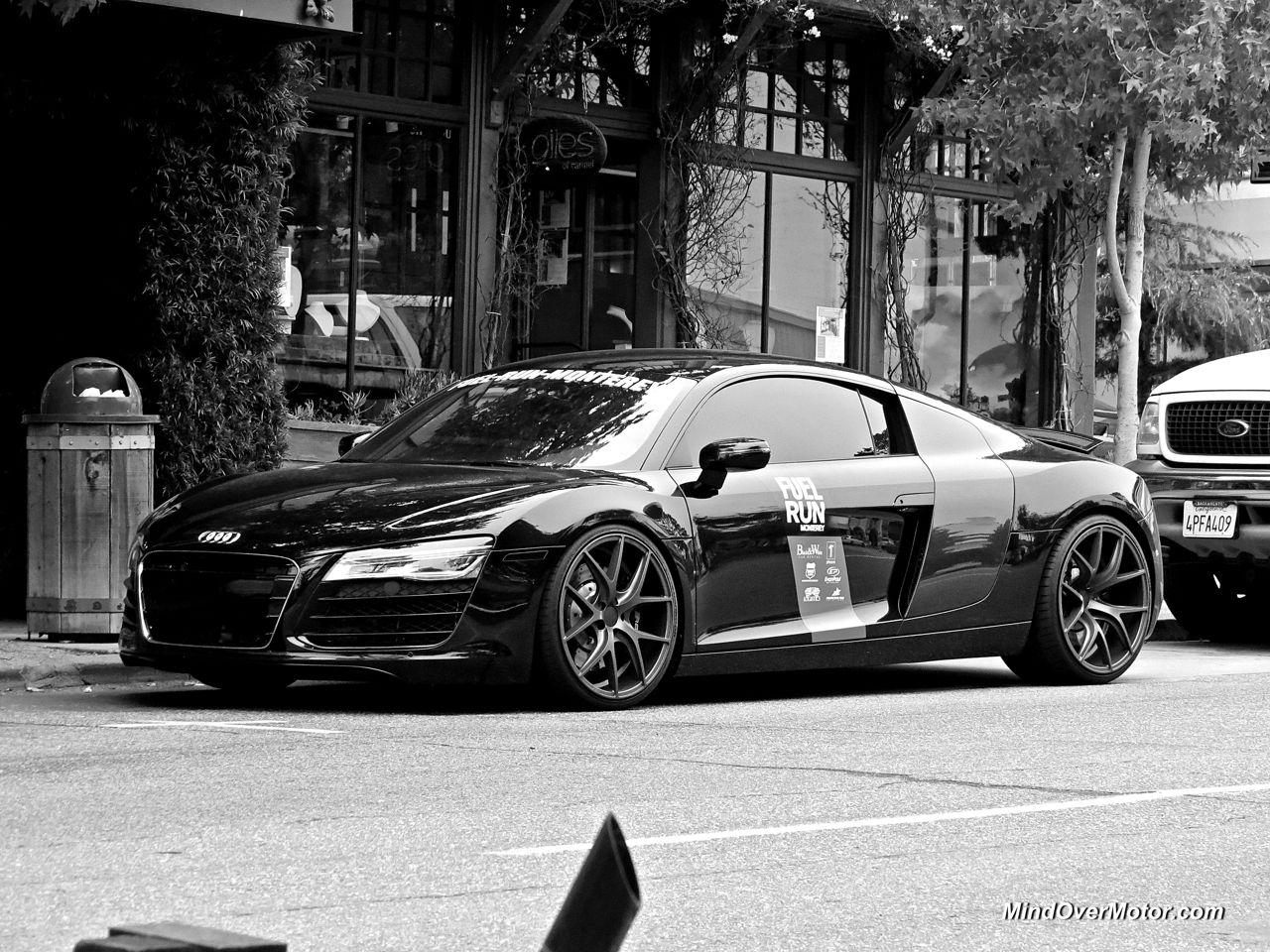 Black Audi R8 Carmel