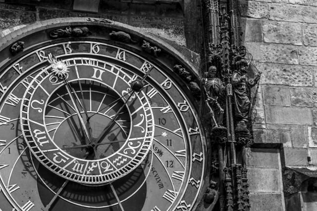 Czech Republic - Prague - Old Town (Staromestské námestí) - Astronomical Clock (Staroměstský orloj)