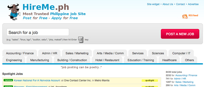 Job Search Websites in the Philippines - Hireme.ph