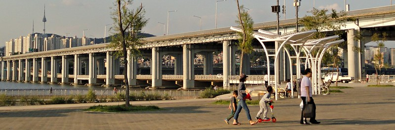 Banpo Bridge Park, Seoul