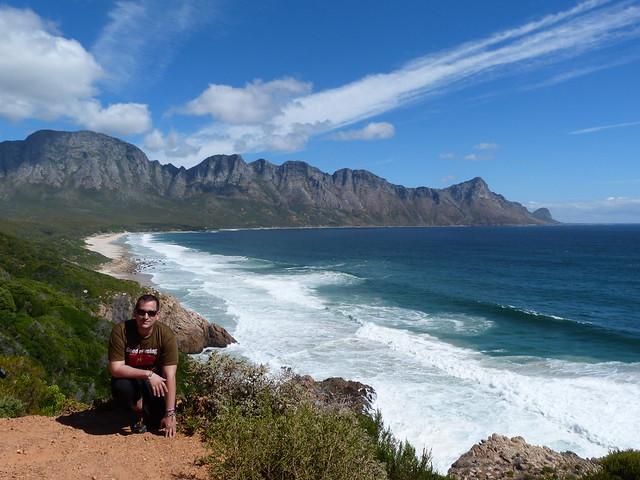 Camino a Stony Point en la carretera R-44 desde Ciudad del Cabo (Sudáfrica)