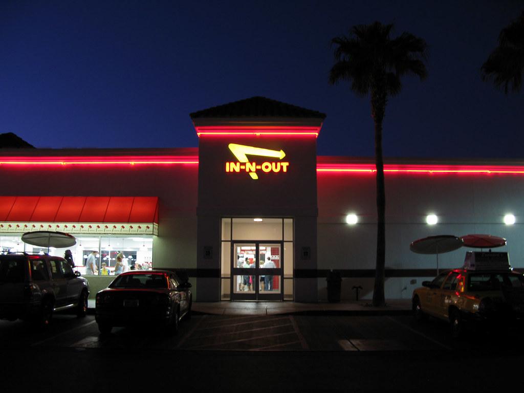 In-n-out Burger in Las Vegas