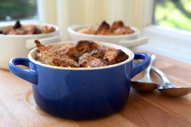 Single Serve Dark Chocolate & Marmalade Bread & Butter Pudding