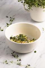 Thyme garlic butter II