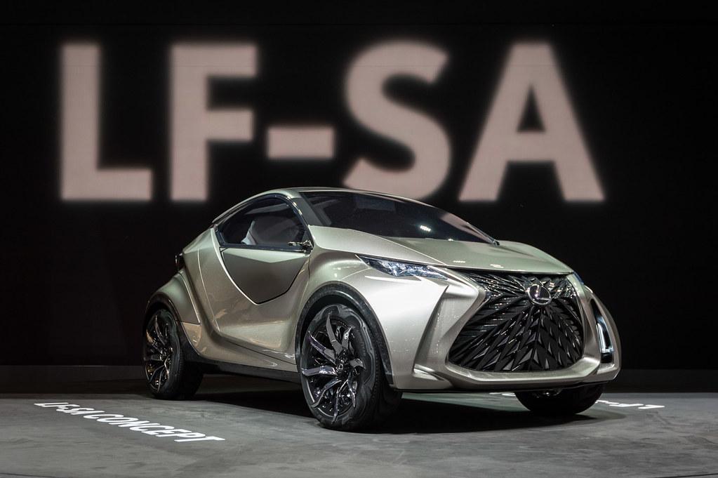 Lexus LF-SA concept live photos: 2015 Geneva Motor Show