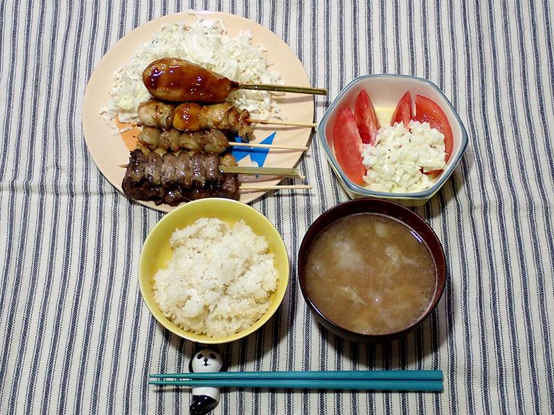 2015年3月5日の晩ご飯
