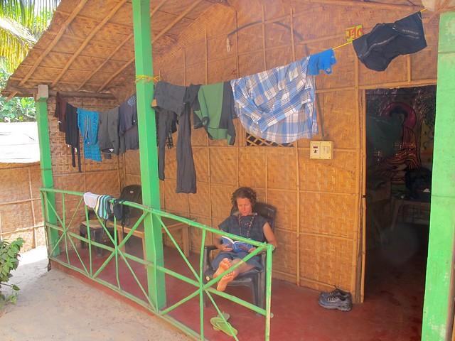 India - Arambol beach hut