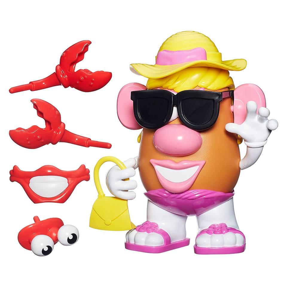 Mr. Potato Head【海灘主題 vs. 海盜主題】螃蟹蛋頭太太 大戰 章魚蛋頭先生!!